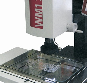 WM1 video measurement microscope with incident light