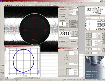 Dimensional Measurement of Gears and Sprockets software