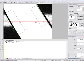 Geometry Measurement of Lens Housings software